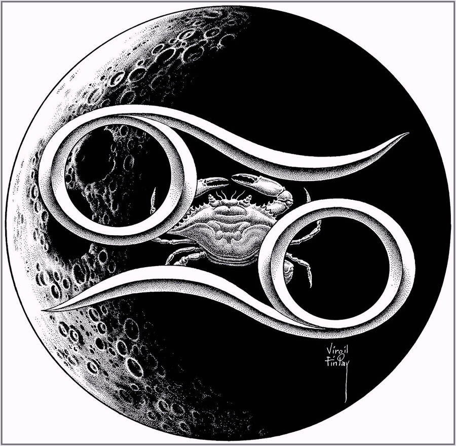 Pluto astrology realness xxx215lvirgilfinlayastrologicalillustrationcancer biocorpaavc